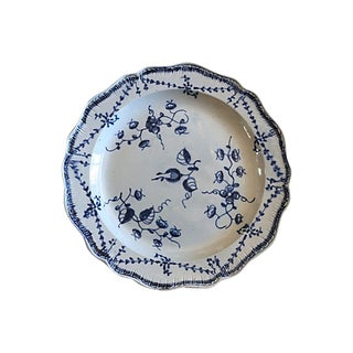 18th-C English Creamware Wall Plate