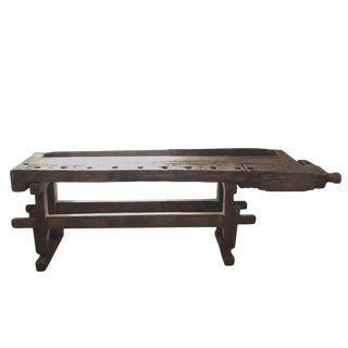 19th Century Rustic Workbench For Sale