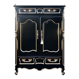 Fancher French Regency Armoire For Sale