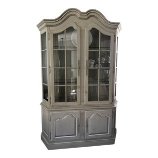 Shabby Chic China Hutch For Sale