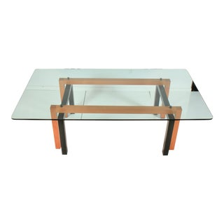Glass Topped Dining Table by Pietro Costantini For Sale
