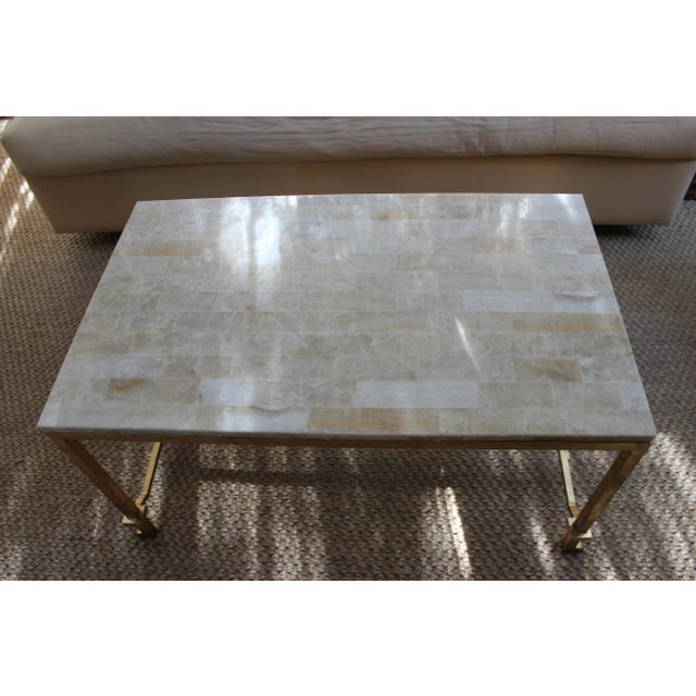 Currey and Co Coffee Table - Image 7 of 8