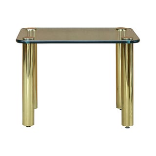 Pace Collection Brass & Glass Side Table Preview
