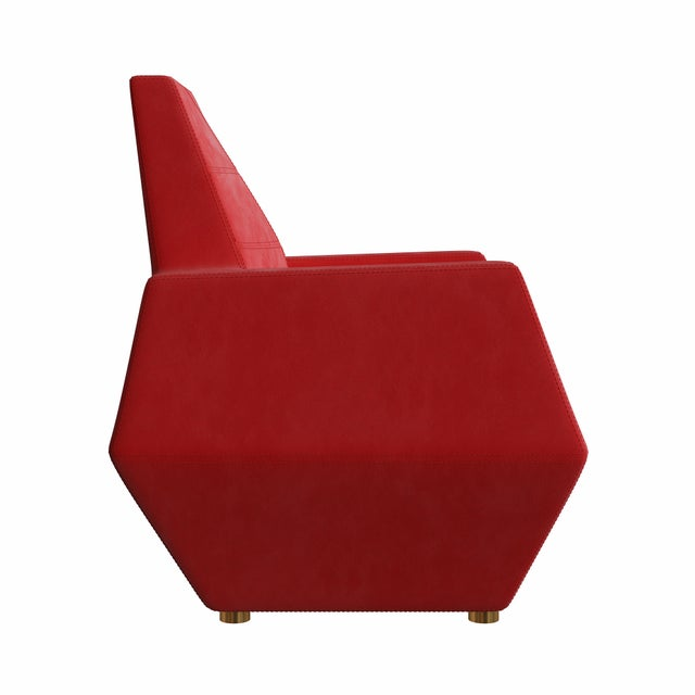 Stealth Lounge Chair by Artist Troy Smith - Contemporary Design - Handmade Furniture. The Stealth Lounge Chair was named...