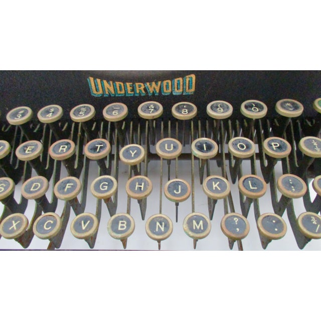 Antique Underwood Typewriter - Image 7 of 11
