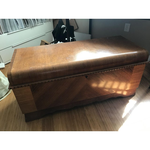 Brown Vintage Lane Altavista Cedar Chest For Sale - Image 8 of 8