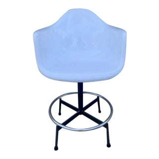 Eames Style Counter Height Stool For Sale