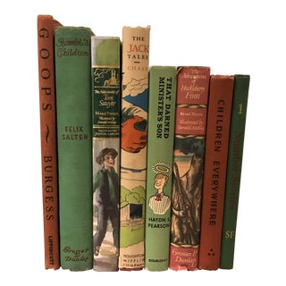 Vintage Children's Books - Set of 8 For Sale