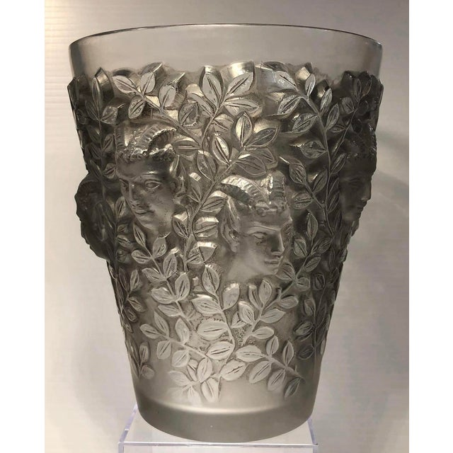 "1930s Vintage R. Lalique ""Silenes"" Vase For Sale - Image 13 of 13"