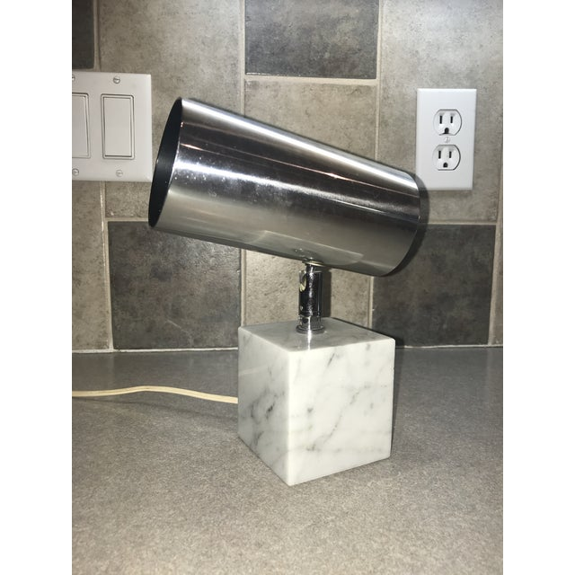 1960s Vintage Koch & Lowy Carrera Marble Base Table Lamp For Sale - Image 10 of 10