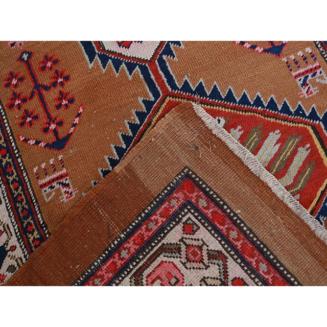"Persian Antique Persian Sarab Runner-3'8""x 9'6"" For Sale - Image 3 of 4"