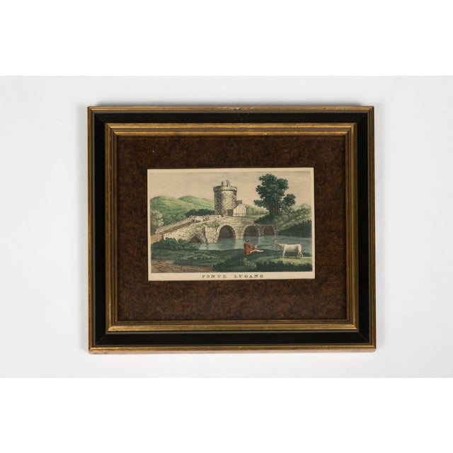Traditional Four 18th Century Classical Prints of Rome For Sale - Image 3 of 7