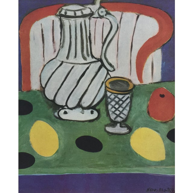 Illustration 1943 Matisse Portfolio Lithographic Prints Book For Sale - Image 3 of 13