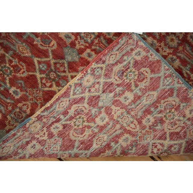 """Vintage Fragment Mahal Square Rug - 2'7"""" X 3'2"""" For Sale In New York - Image 6 of 9"""