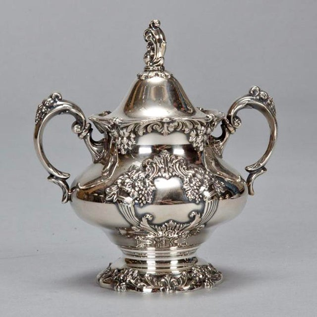 Reed & Barton Silver Plate Coffee Service - 6 Pieces For Sale In Detroit - Image 6 of 11
