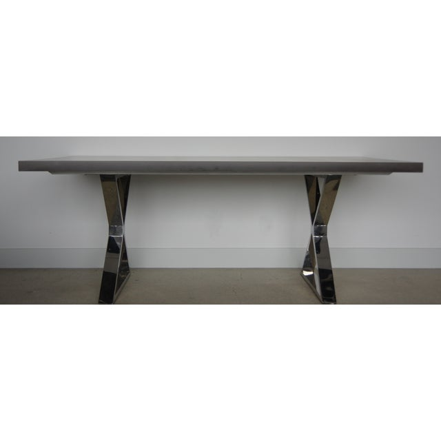 Contemporary Dining Table - Image 2 of 7