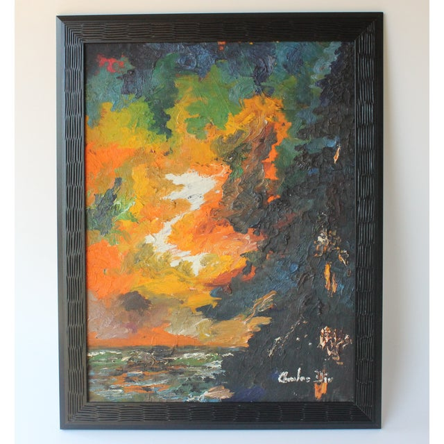 Abstract Landscape by Charles Dix - Image 2 of 6