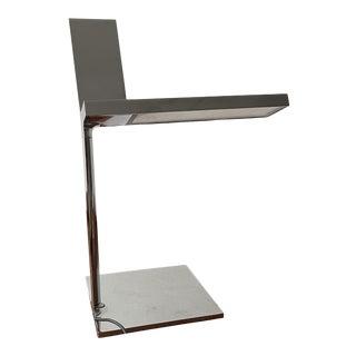 2000s Phillippe Starck for Flos Aluminum Table Lamp d'E-Light Italy For Sale
