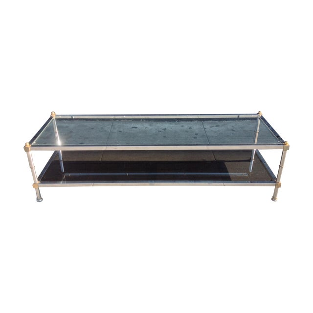 1970's Hollywood Regency Coffee Table - Image 1 of 8