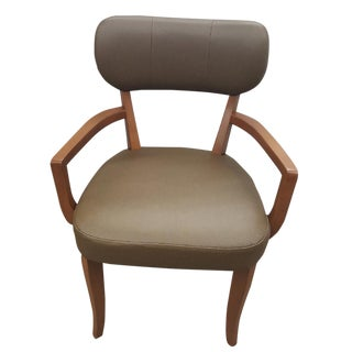 """The Hide's """"The Tradd"""" Dining Chair With Arms For Sale"""