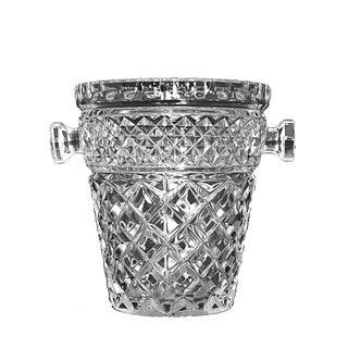 Small Crystal Ice Bucket