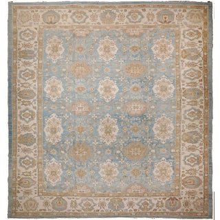 Agra Design Hand-Knotted Luxury Rug - 7′9″ × 9′4″ For Sale