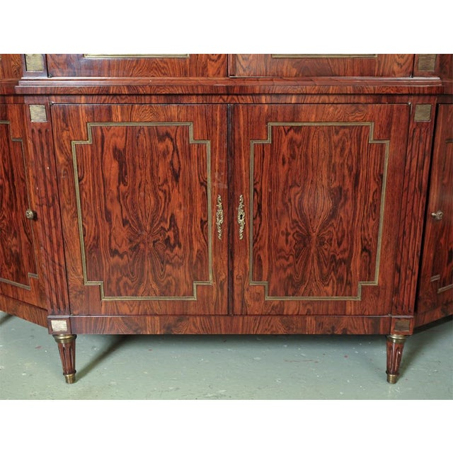 Custom-Made Maison Jansen Rosewood Breakfront For Sale - Image 7 of 10