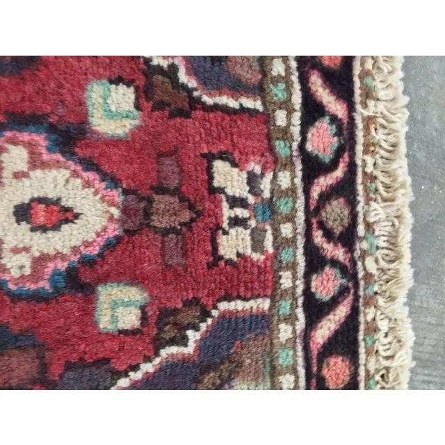 Hamadan Persian Rug - 1′6″ × 2′9″ - Image 8 of 9