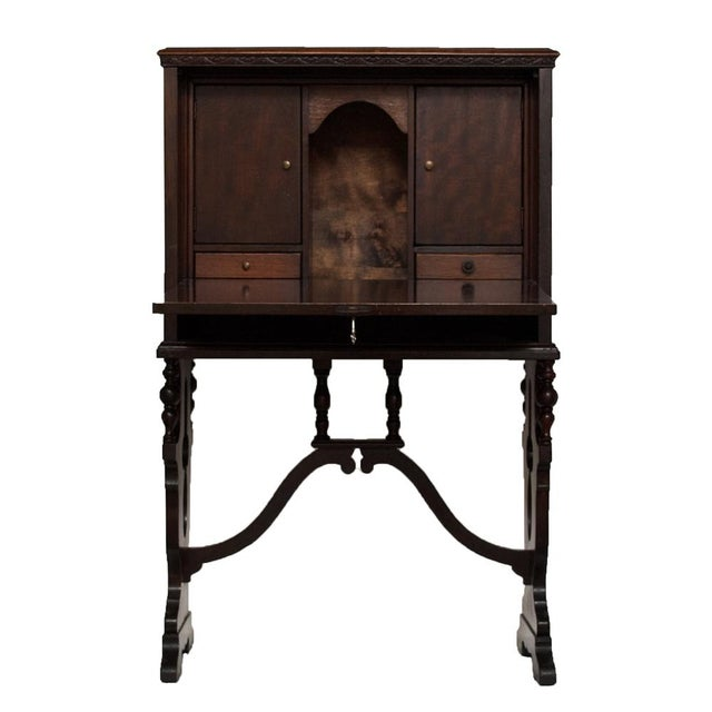 "Early 20th Century ""Vargueno"" Secretary Desk - Image 5 of 10"