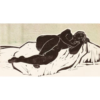 Wedo Georgetti Nude in Repose Circa 1955 For Sale
