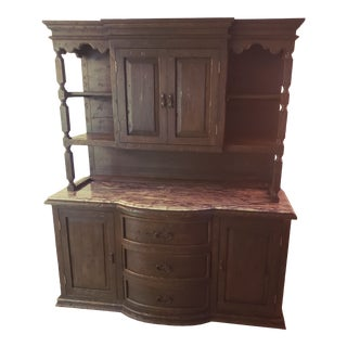 Buffet/Credenza With Hutch For Sale