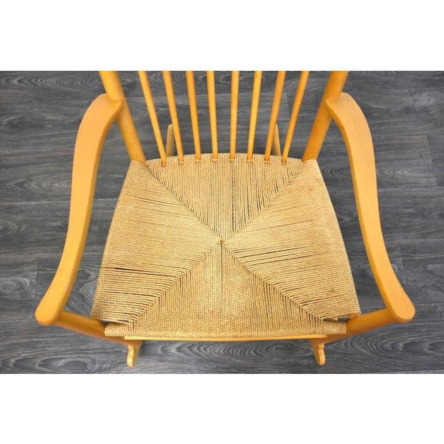 Hans Wegner Danish Rocking Chair For Sale In Boston - Image 6 of 10