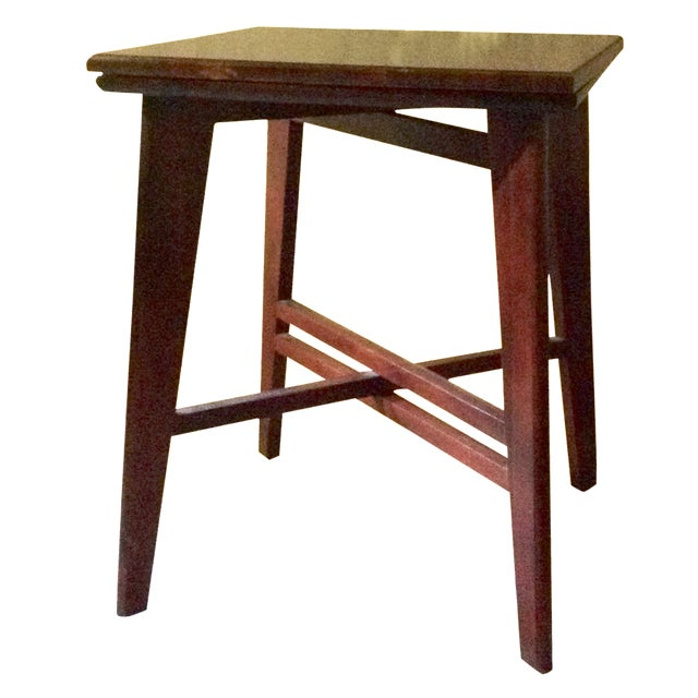 1950s Rotating Television Table - Image 1 of 9
