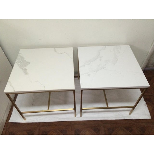 Hollywood Regency Paul McCobb Side Tables - a Pair For Sale - Image 3 of 6