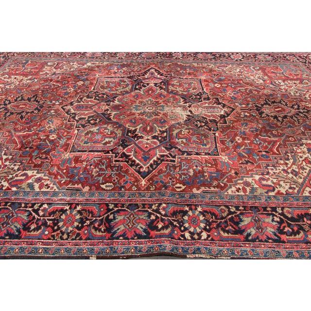 "Apadana - Persian Rug, 9'5"" X 12'5"" For Sale - Image 4 of 4"
