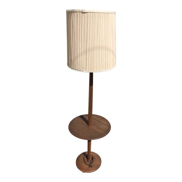 Mid-Century Modern Vintage Teak Floor Lamp For Sale