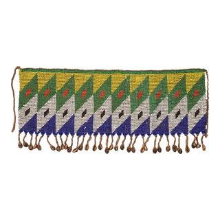 Ceremonial Tulip Skirt Kirdi Beaded Pikuran Cameroon For Sale