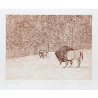 Guillaume Azoulay, Home, Etching For Sale