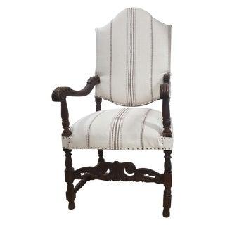 Edwardian Arm Chair For Sale