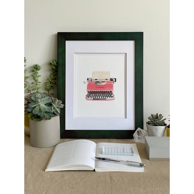 """Retro Typewriter"" Giclée Art Print by Felix Doolittle - 8x10 For Sale - Image 4 of 5"