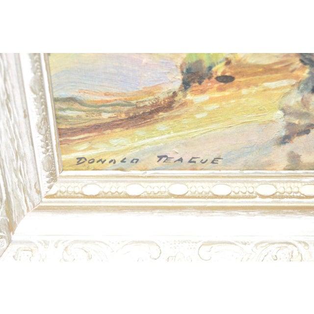 Donald Teague Cowboy Print - Image 4 of 5