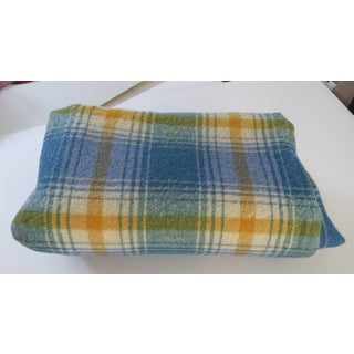 Turquoise Plaid Blanket Preview