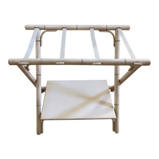 Folding Luggage Rack & Suitcase Stand & Shelf For Sale