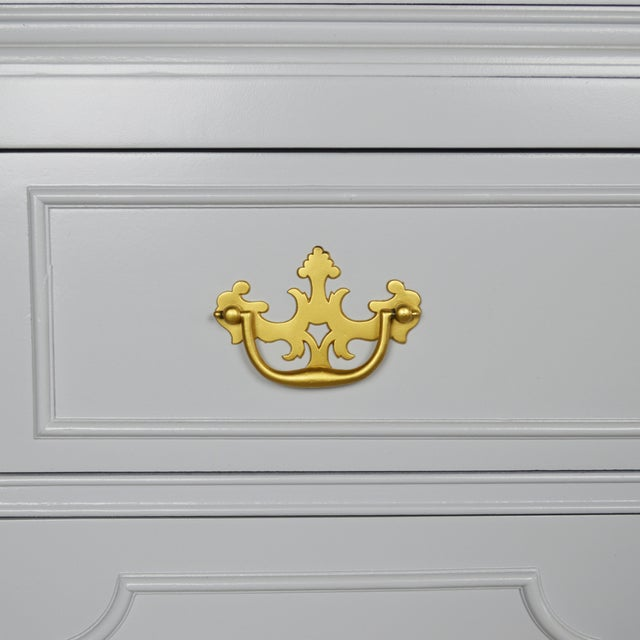 Fretwork Chippendale Breakfront - Image 5 of 5