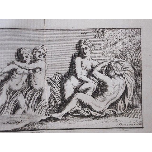 Antique 19th C. Engravings-Sculpture of Herculaneum & Pompeii For Sale - Image 4 of 6