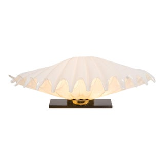Rougier Large Clam Lamp 1970s