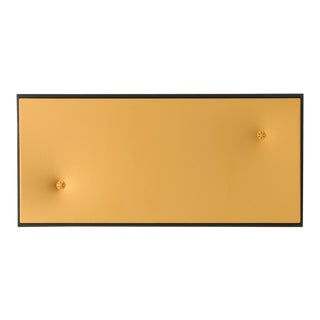Topher Gent Yellow Contemporary Painting Wall Sculpture C. 2019 For Sale