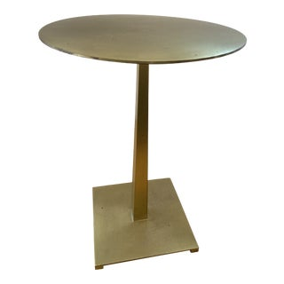 Contemporary Brass Side Tables For Sale