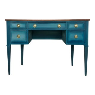 Vintage Demi Lune Desk
