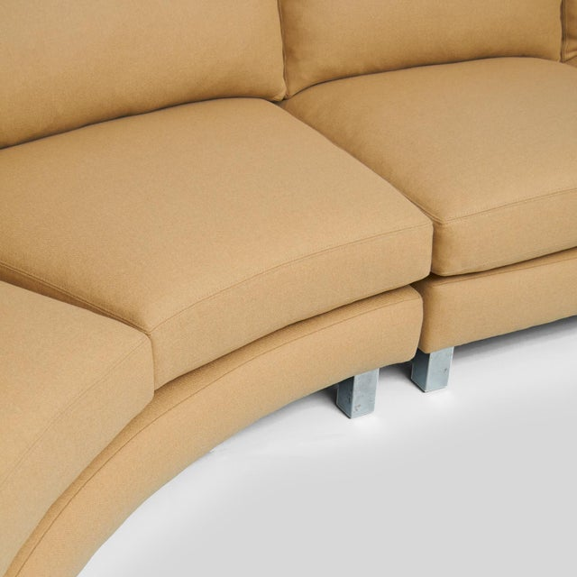 1960s Milo Baughman Sectional Sofa For Sale - Image 5 of 7
